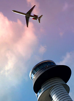 passenger-jet-over-control-tower
