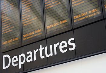 train-departures-board